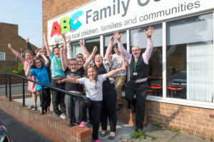Pictured for Peoples Postcode Lottery Charity Trust is a visit to the ABC Family Centre in Middlesbrough. Pictures copyright Darren Casey / DCimaging 07989 984643